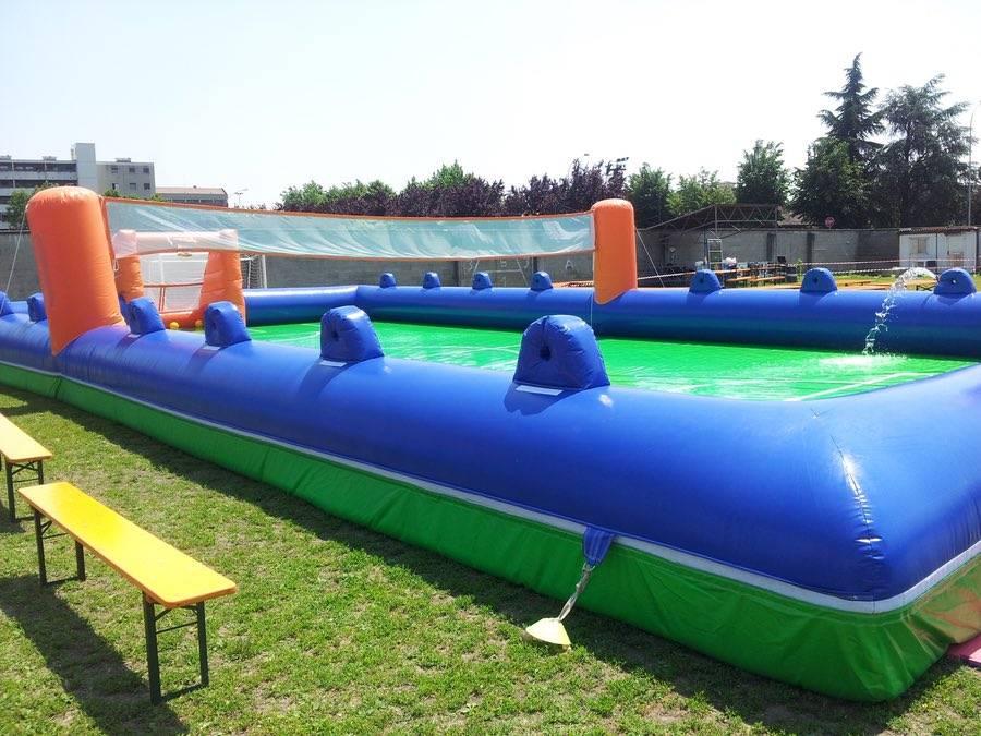 Area Gioco Sport Gonfiabile Giochi Per Eventi Organizzazione