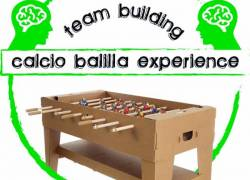 ORGANIZZAZIONE TEAM BUILDING SPORTIVO - CALCIO BALILLA OUTDOOR-INDOOR