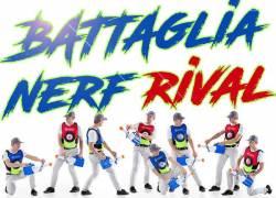 BATTAGLIA INTERATTIVA - NERF PARTY, FESTA COMPLEANNO RAGAZZI 10,11,12,13 ANNI A TORINO